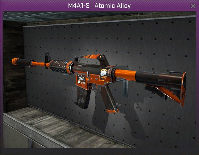 M4A1-S Atomic Alloy